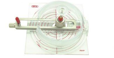 Guillotina cortador circular para papel